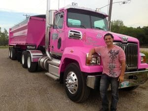 Pete in Pink - Breast cancer awareness